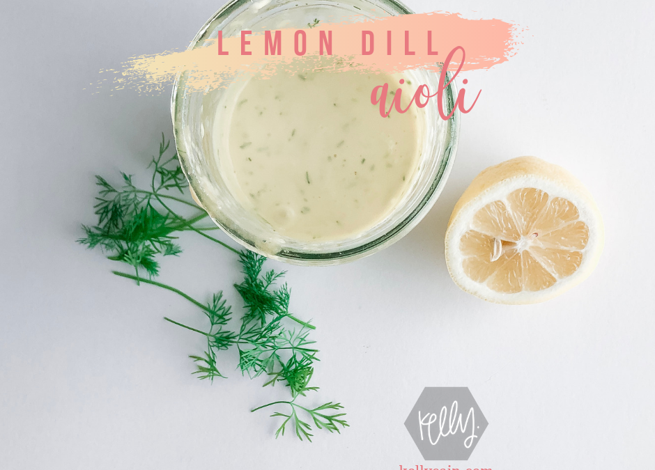 Lemon Dill Aioli Recipe