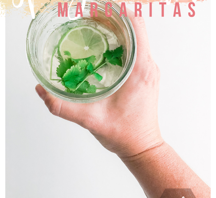 Spicy Cilantro Margaritas